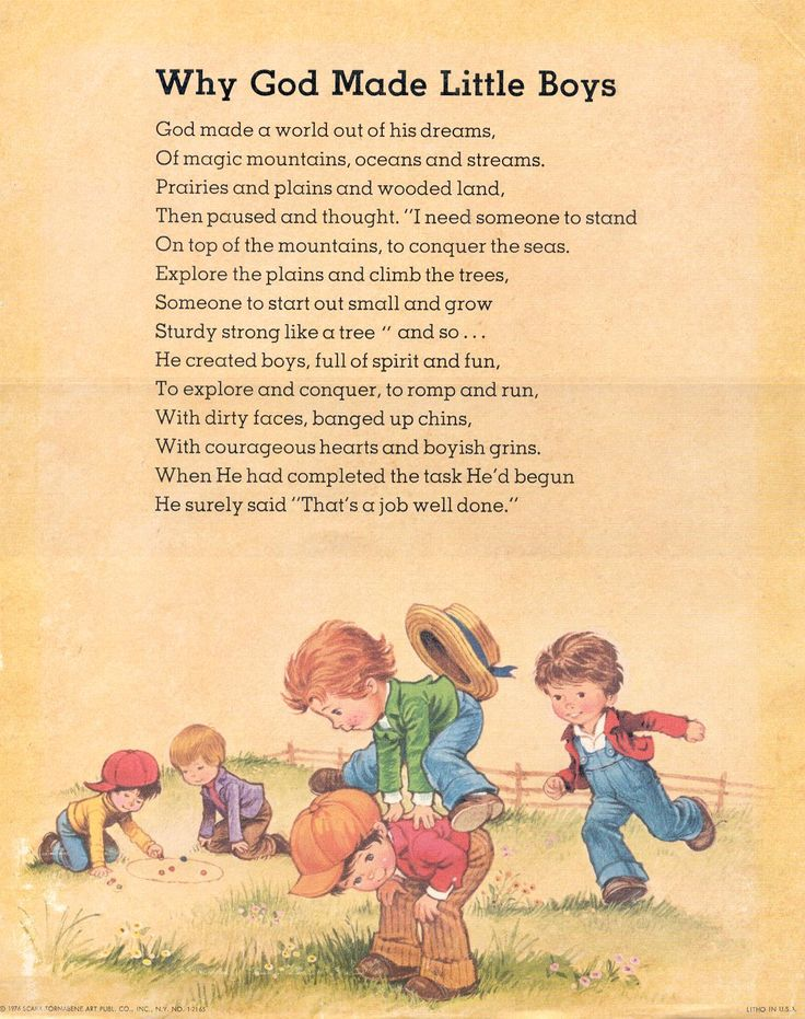 Little Boy Poems
