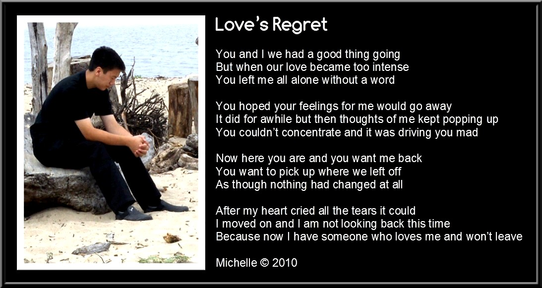 life regrets by avoidant and arousal But when the arousal is gone, then it is all over and the avoidant experience becomes appealing especially if the sex was connecting high frequency then are those who want a lot of sex.