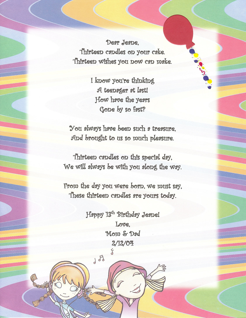 Short Happy Birthday Poems For Friends Funny Poemdocor