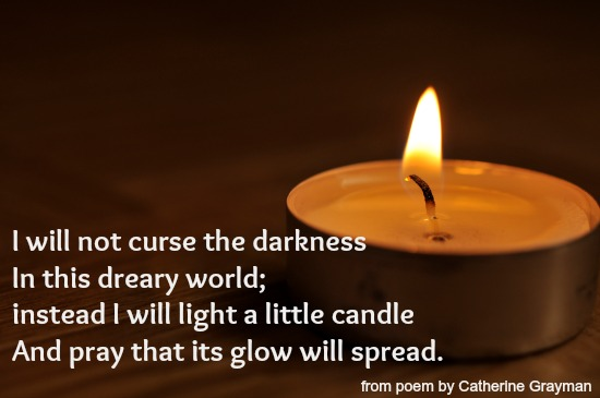 Candle lighting poems aloadofball Images