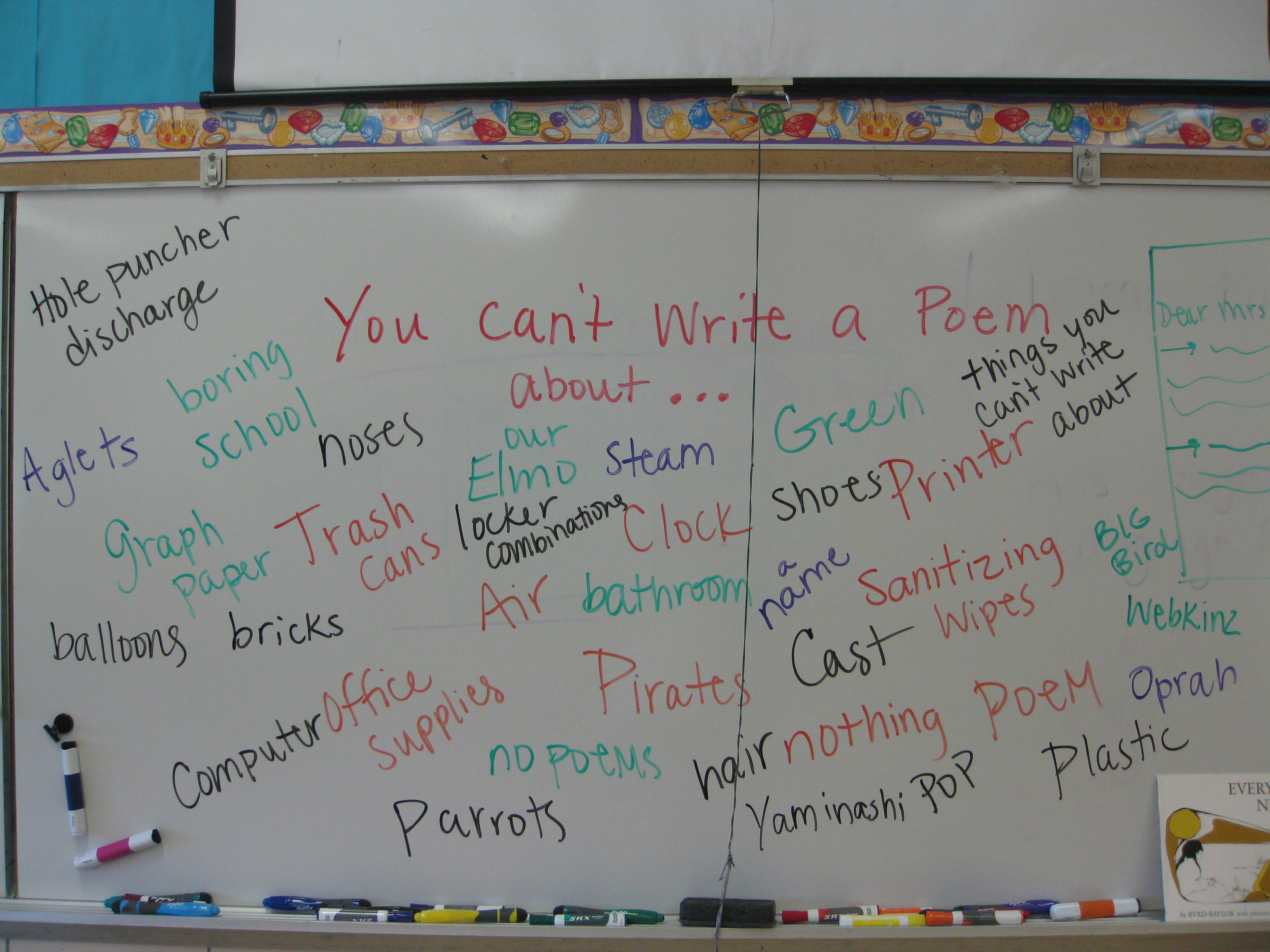 Topics For Poems Poems about food, glorious food! topics for poems