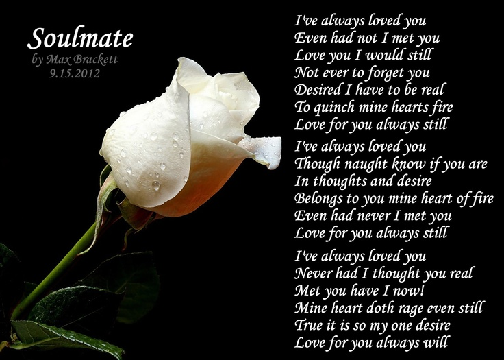 Soul Mate Poems