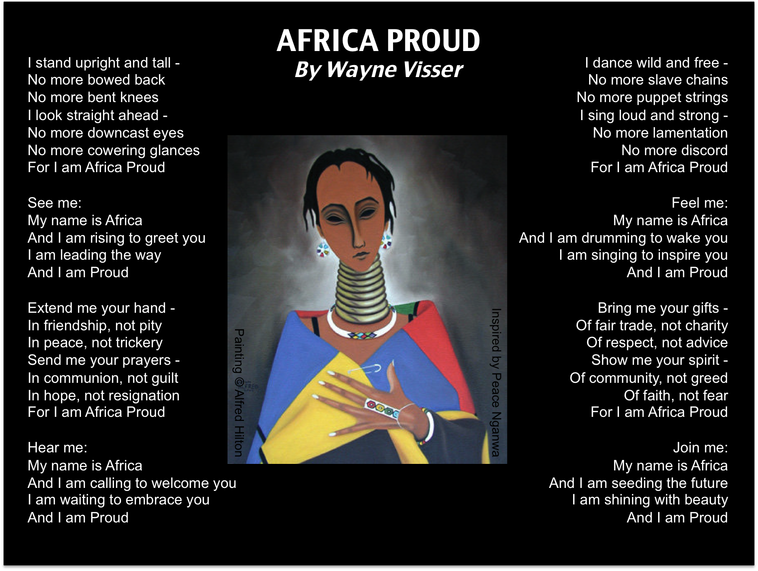 176 Best Images About Proudly South African On Pinterest: African Poems