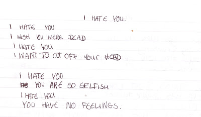 I hate you Poems