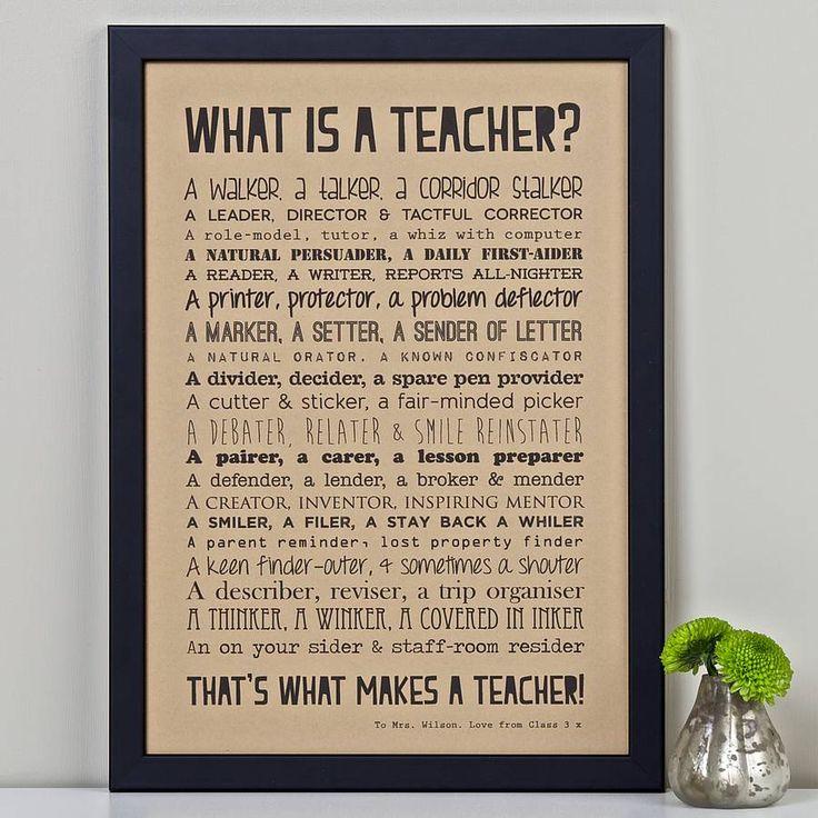 Headteacher Poems