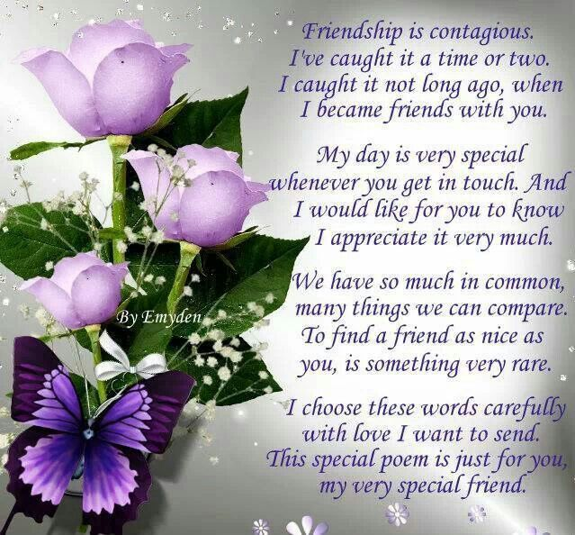 Special Friendship Poems