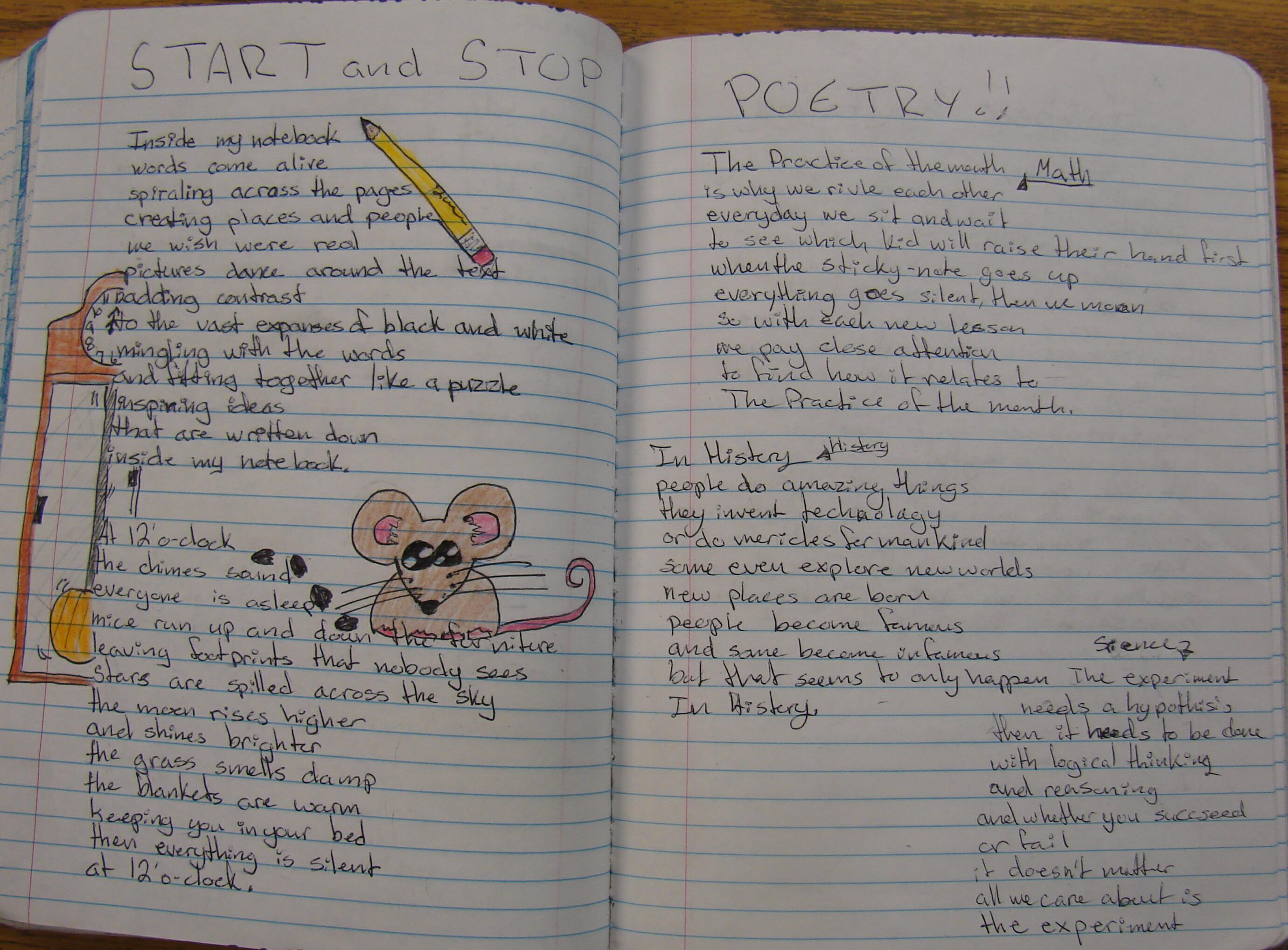 Notebook Poems