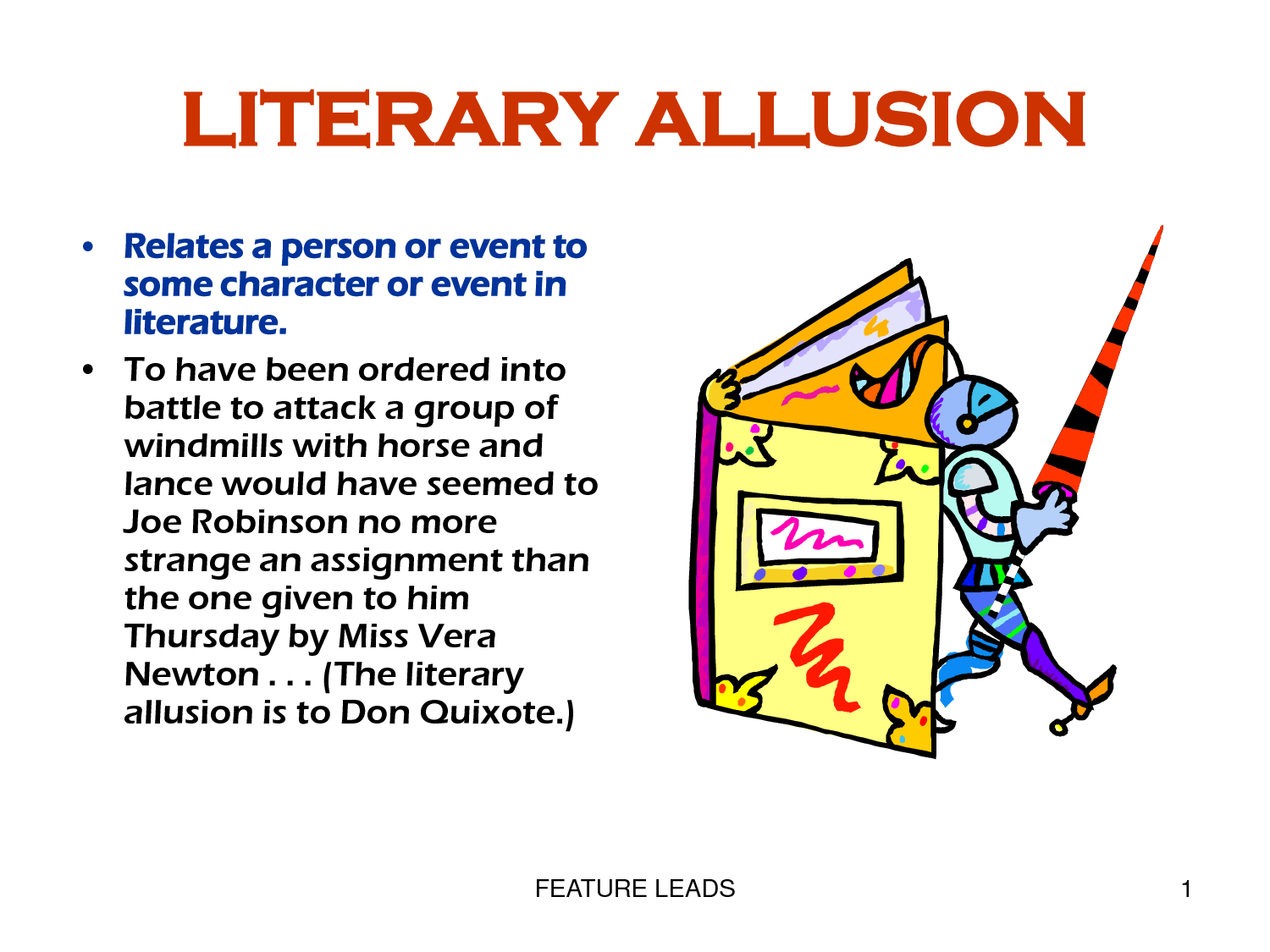 Examples Of Allusions For Kids Image Collections Example Cover