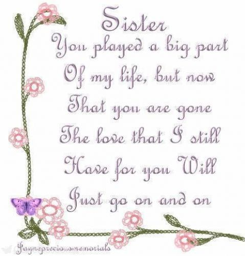 Happy Birthday To My Sister In Heaven Pictures Bahuma Sticker