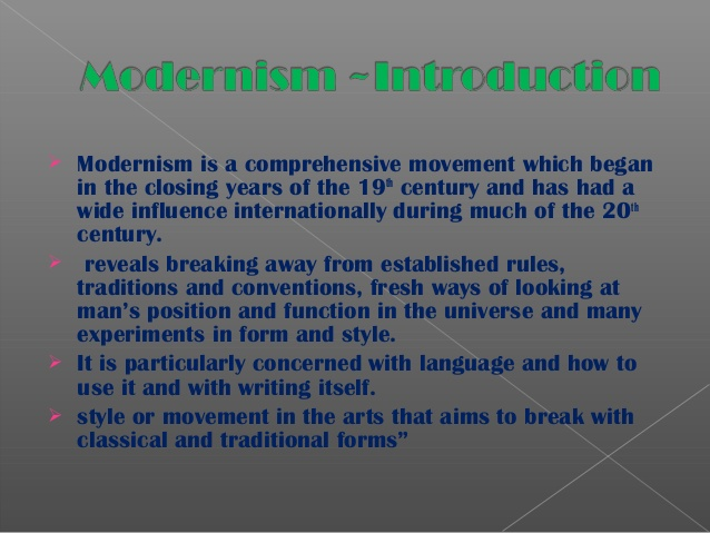 compatibility of modernism and traditionalism essay What is needed therefore are filters that allow us to recognize the truths that both modernism and traditionalism teach us along with the truths that pre modernism, modernism, and post modernism have discovered so that we can blend these truths together.