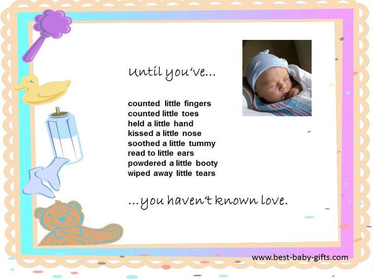 Newborn Baby Poems