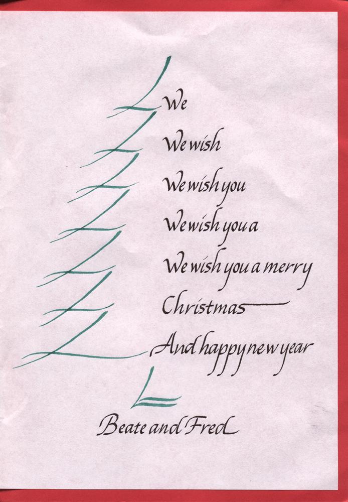christmas card poems