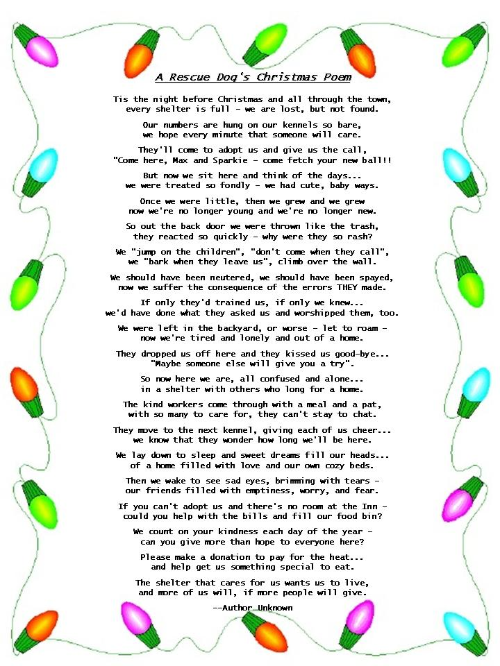 childrens christmas poems