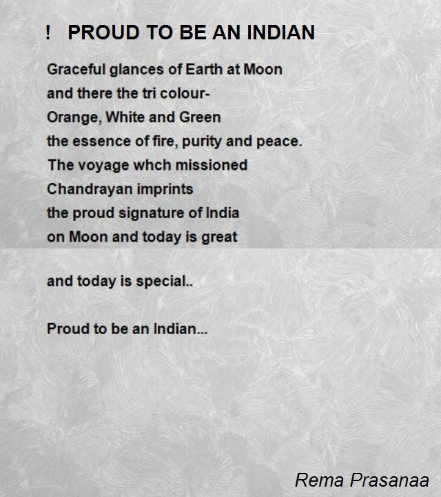 Indian Poems