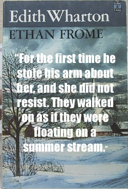 edith whartons ethan frome and wallace stevens the snow man essay Coldness is a prominent theme in both edith wharton's ethan frome and wallace stevens' the snow man when one thinks of.