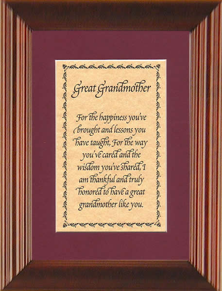 Great Grandma Quotes Great grandmother Poems Great Grandma Quotes