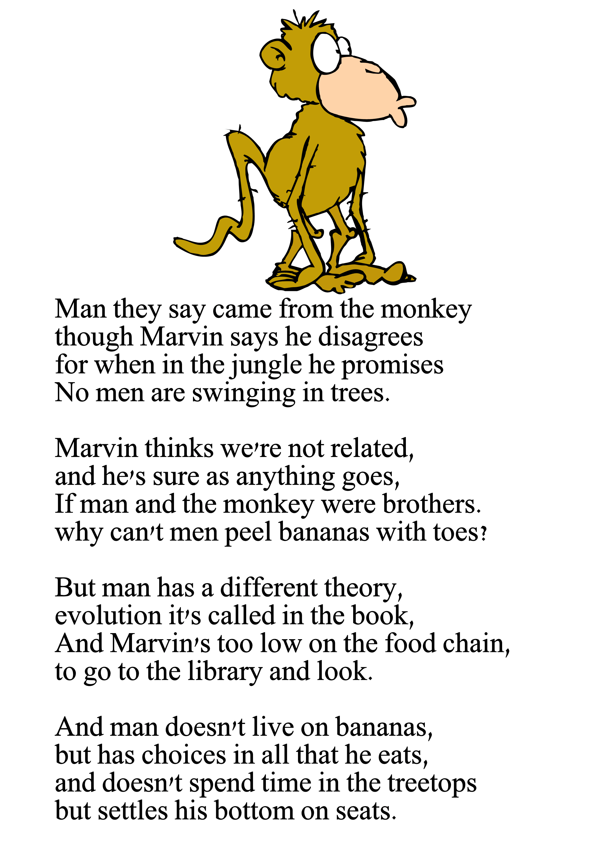 Silly funny poems