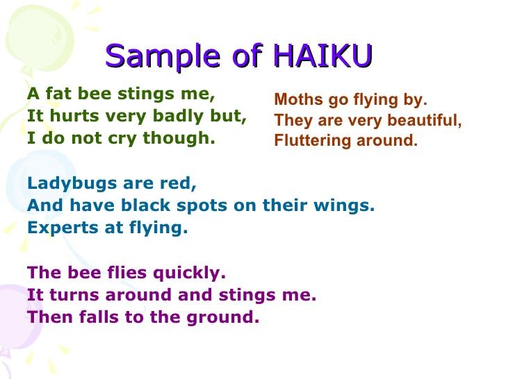 Example of haiku poems 575 syllables | blog.