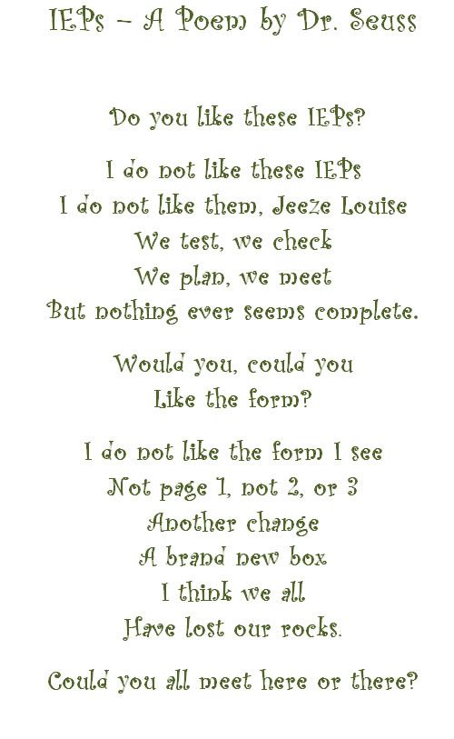 Special Poems