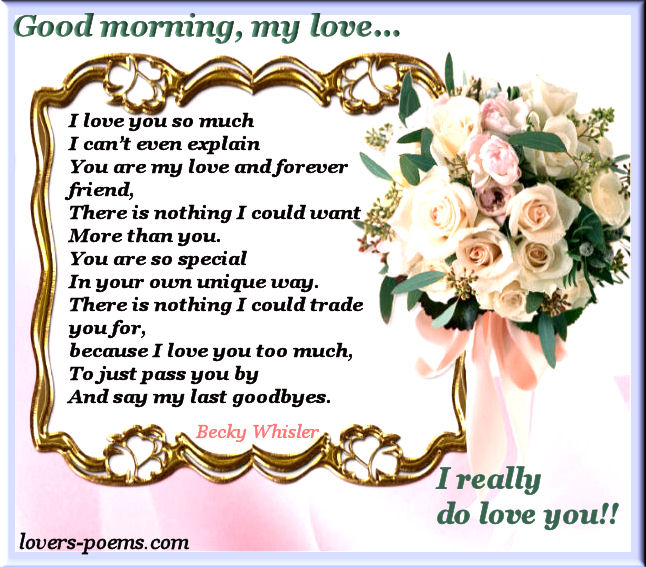 good morning my love i love you orizanet portal