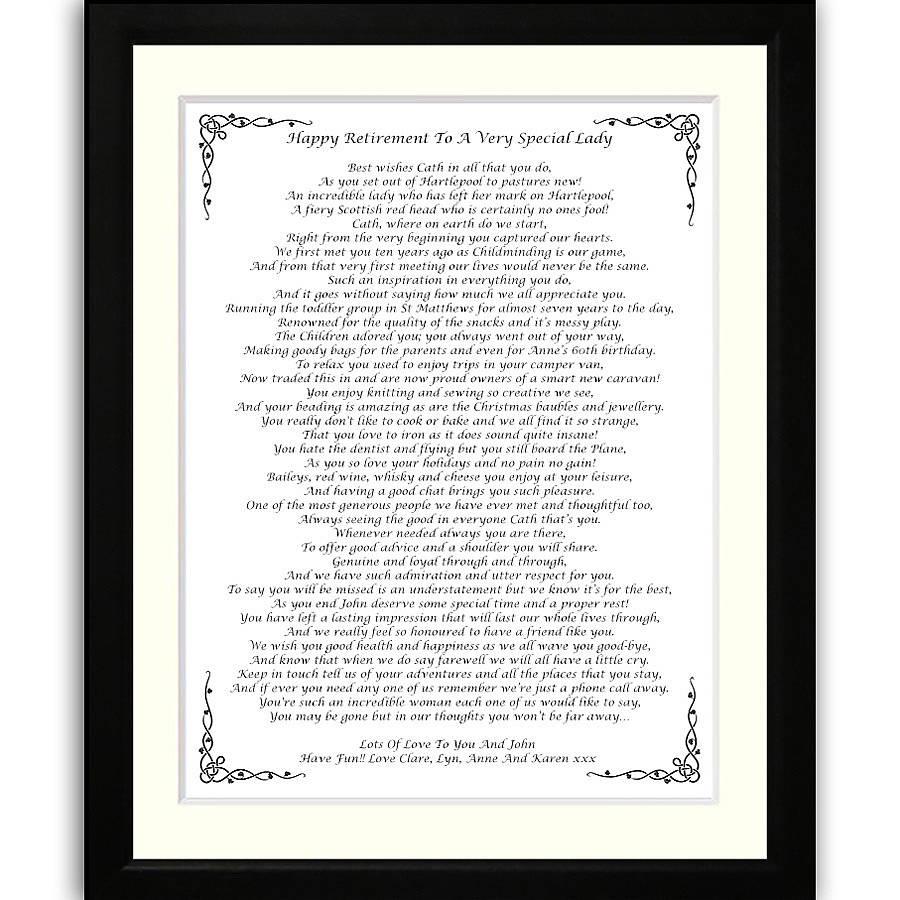 Frame Poems