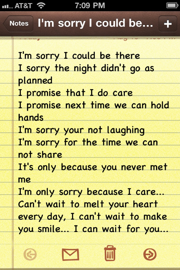 apology poems for your girlfriend