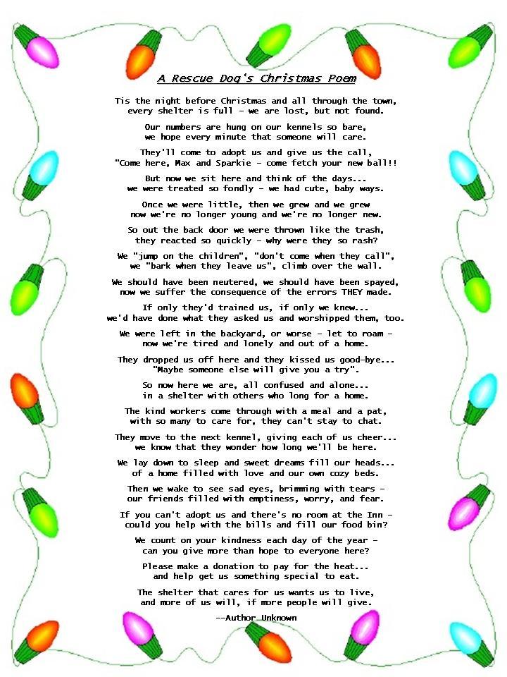 xmas poems