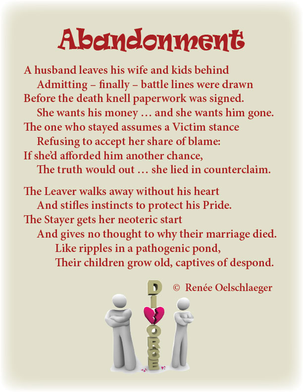 marriage separation poems
