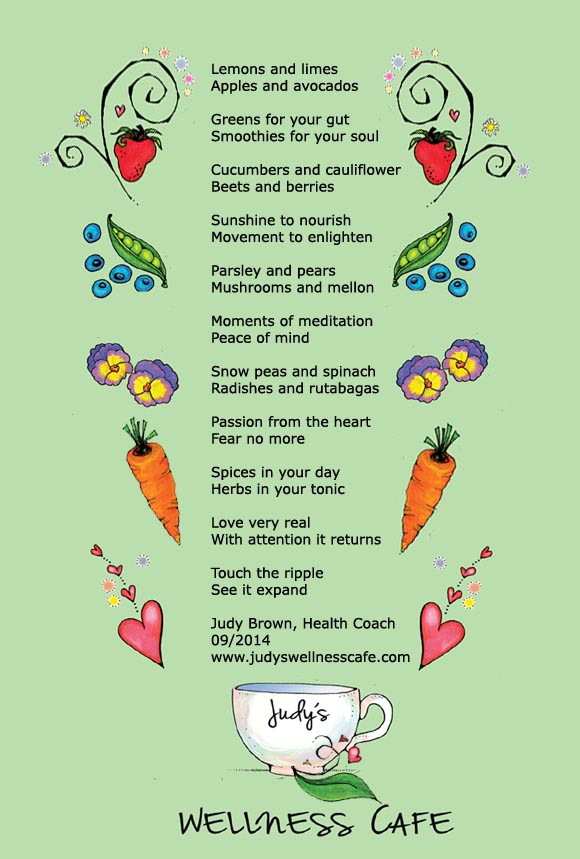 Nutrition Poems
