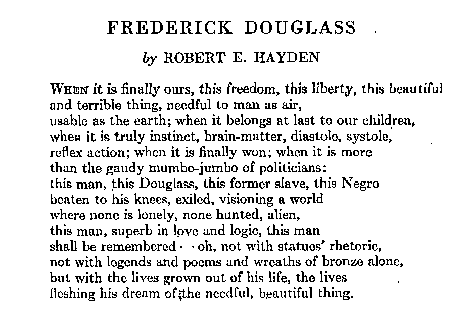 frederick douglass narrative essay prompts Although frederick douglass is bombarded with many hardships which desire his collapse, he remains afoot in a time of great disorder and cruelty douglass triumphs over his captors with his honorable gift of education sophia auld strikes him the interest of education and motivates him.