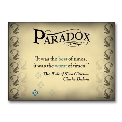 Paradox Definition And Examples In Literature Images Example Cover