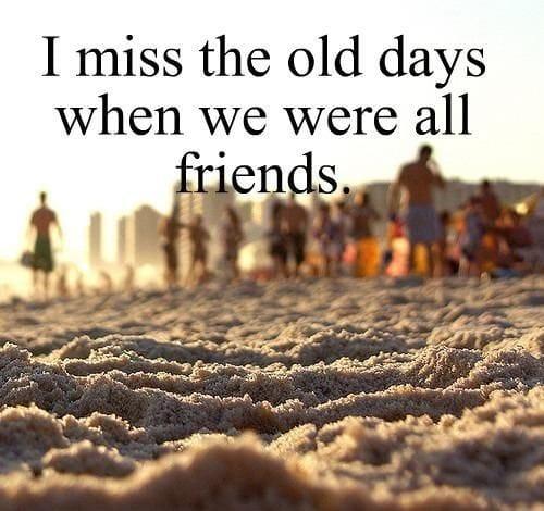 I Miss My Friend Poems