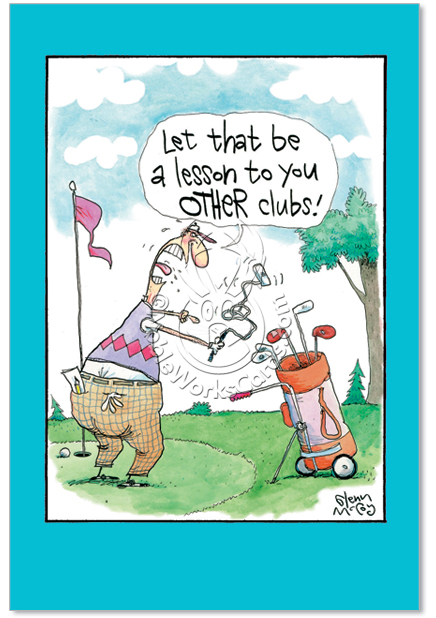Funny Golf Poems