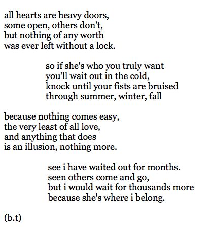 Hard Times Poems