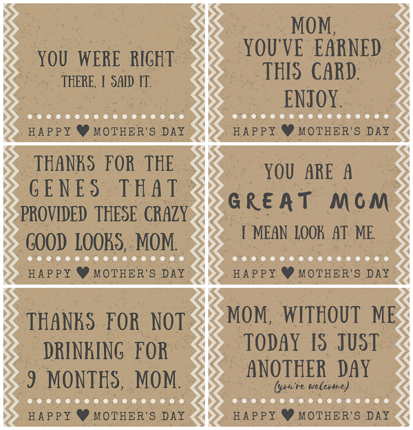 graphic relating to Free Printable Funny Mothers Day Cards titled Absolutely free printable moms working day Poems