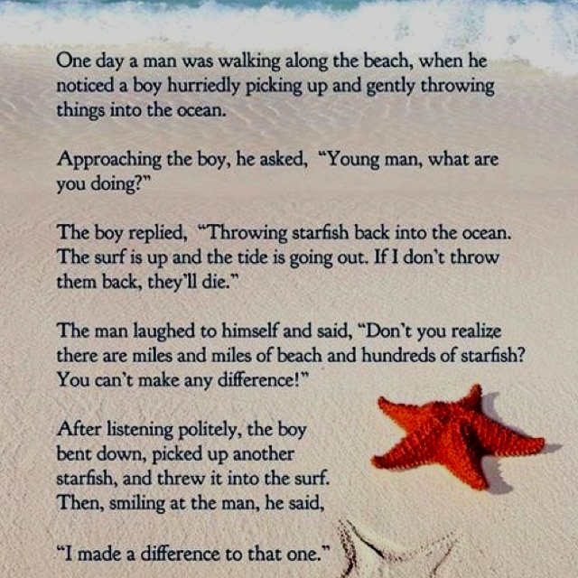 picture about Starfish Poem Printable known as Starfish Poems