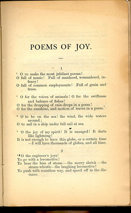 Joy Poems