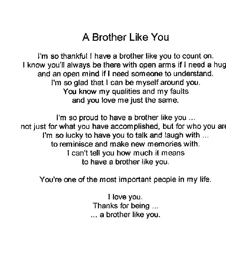 Imágenes De I Love My Brother Poems And Quotes Hindi