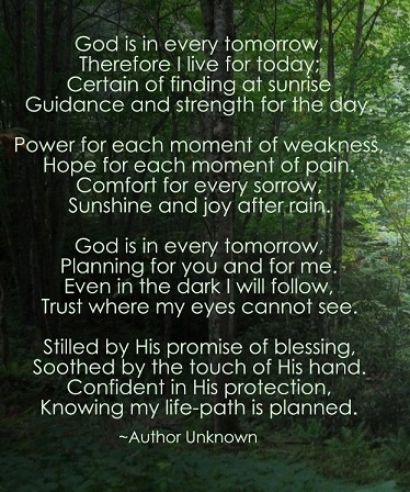 Poems about God Walking With Us