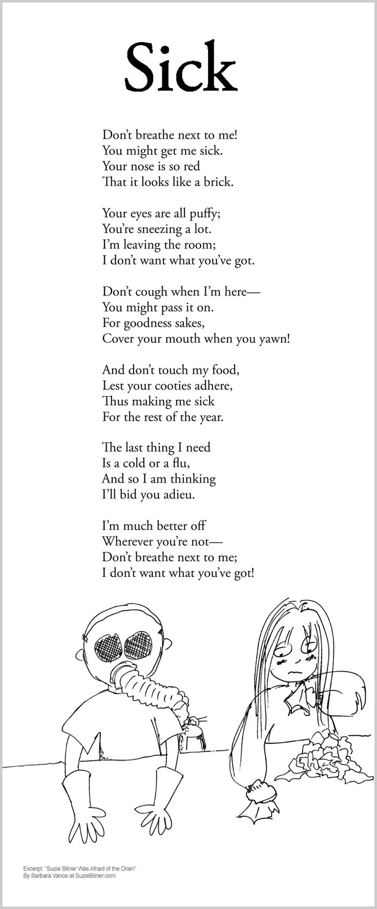 Image of: Shel Silverstein Poem Searcher Kids Funny Poems