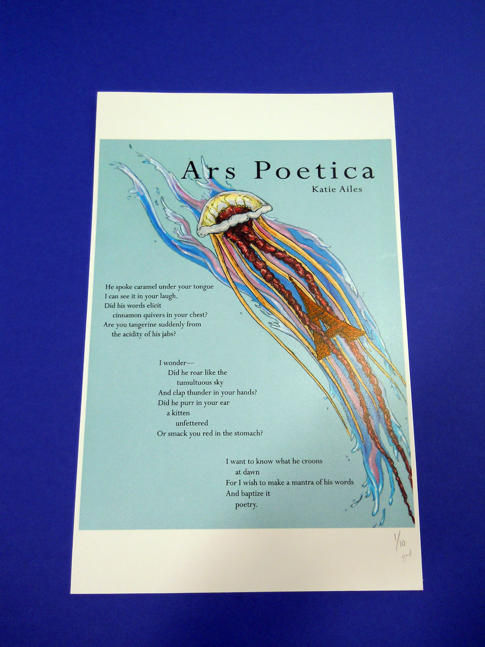 ars poetica analysis line by line
