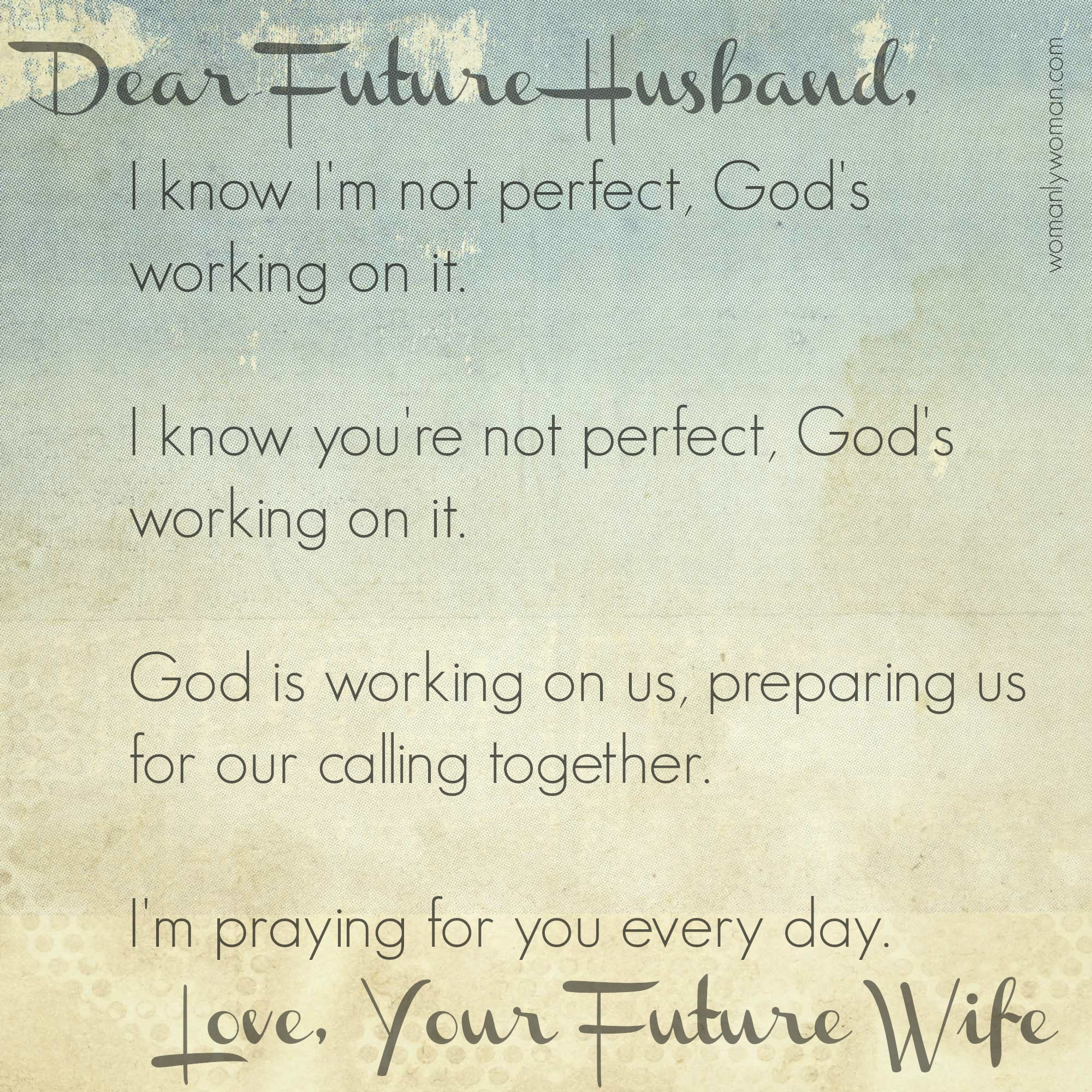 Future wife Poems