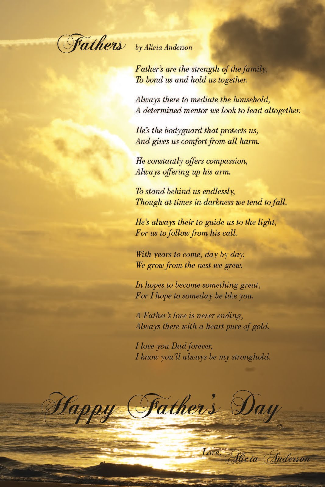 Fathers Poems
