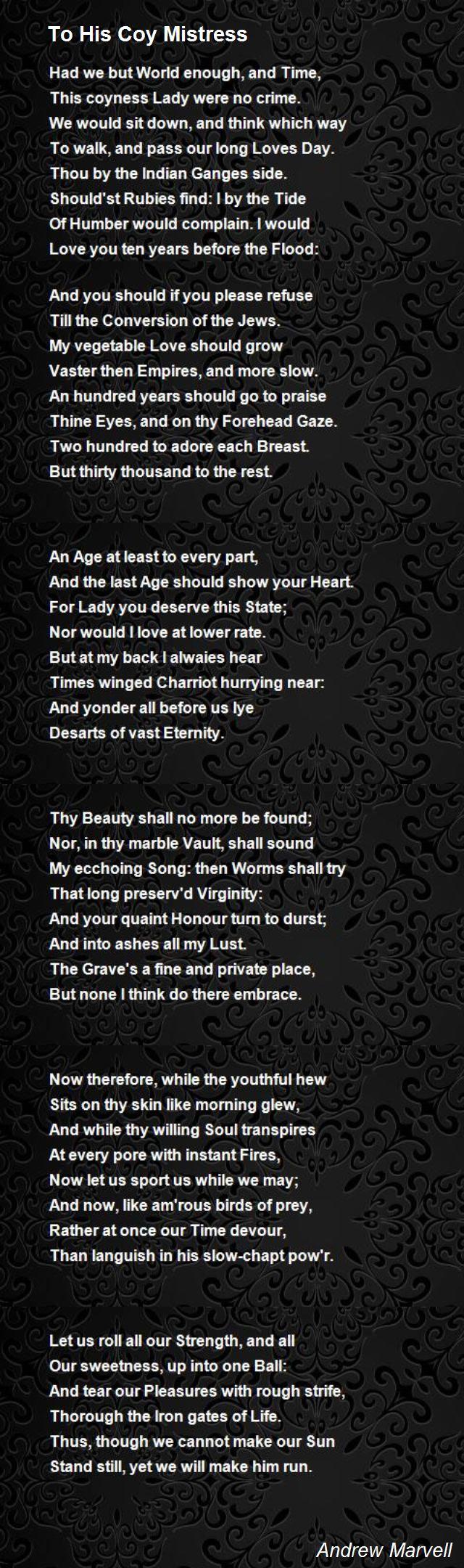 Mistress Poems
