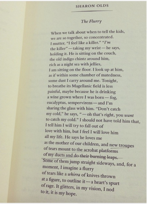 the underlying theme of abuse in sharon olds poemthe victims The victims by sharon olds in this poem, the main message is a commentary on our society where divorce is prevalent and how difficult it is for the people affected by the divorce to deal with it the line she took it and/ took it, in silence, all those years (1-2) references to an act of abuse whether it be physical or verbal or even total in a divorce, everyone is a victim i cant link it with the theme.