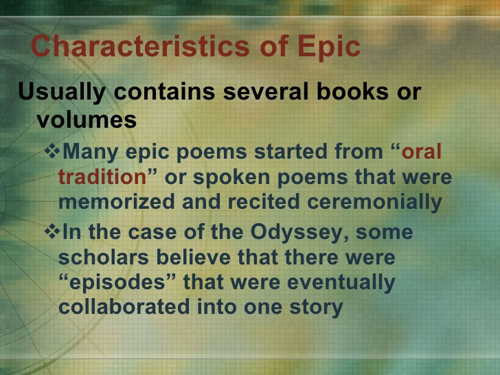 essays on epic poems Read this full essay on epic poem in the epic poem omeros by derek walcott is a literary piece that calls for a lot of attention this poem can be dangerously confusing at time because it is written in a universe that has so many different things going on.