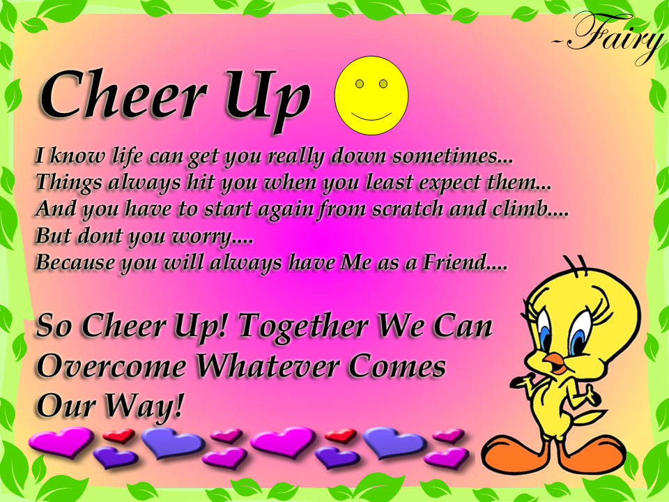 Cheer Up Poems