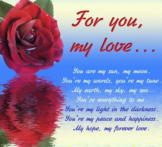 Lover poem com