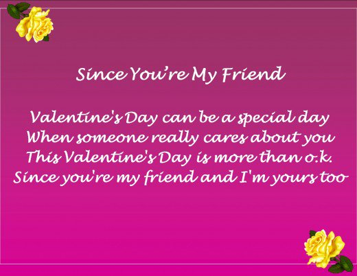 Valentine Friendship Poems Extraordinary Valentine Day Quotes For Friend