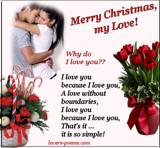 Christmas love poems m4hsunfo